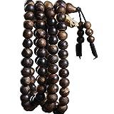 Tbagem-Yjr Agarwood 108 Perlen Armband Männer Und Frauen, Gebetskette Mala Armband Armband Rosenkranz